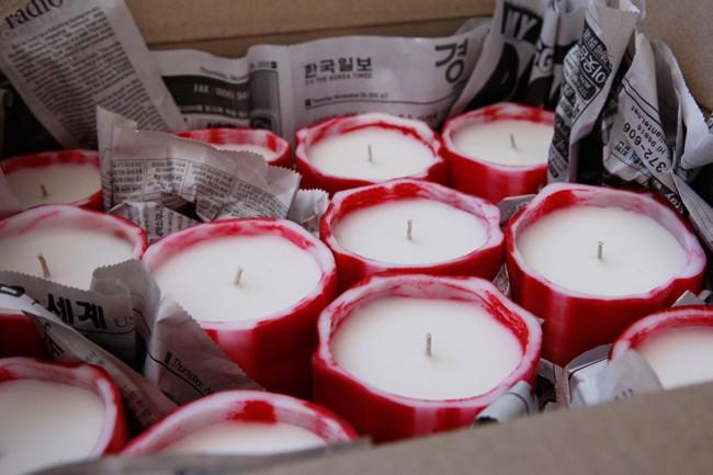 Le Feu De L'Eau candles